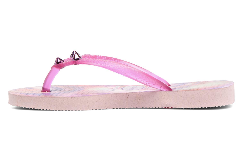 Flip flops & klipklapper Havaianas Kids Slim Style Pink se forfra