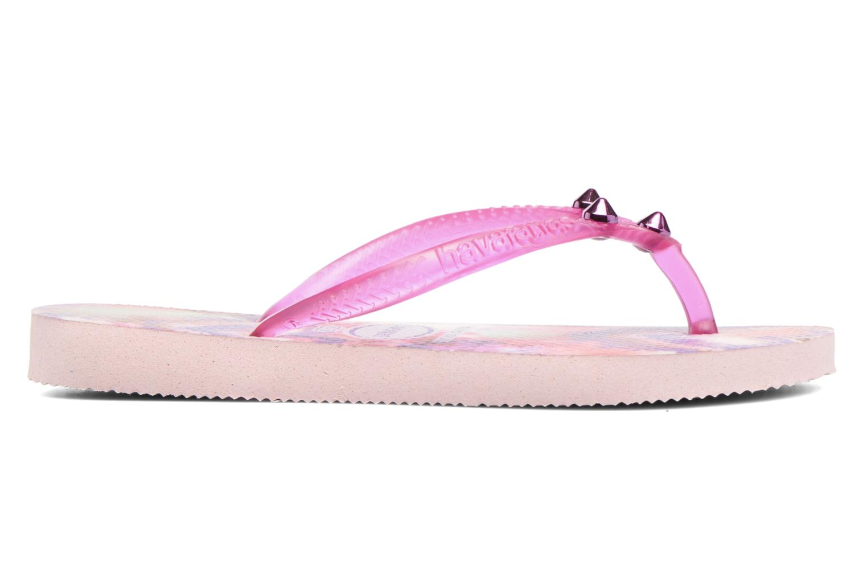 Flip flops & klipklapper Havaianas Kids Slim Style Pink se bagfra