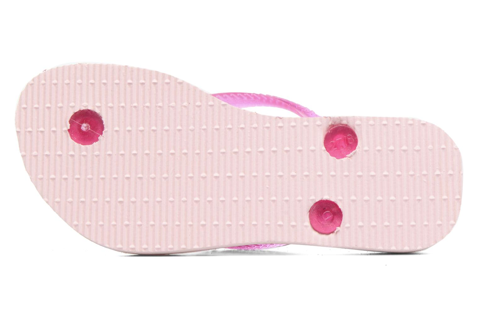 Slippers Havaianas Kids Slim Style Roze boven