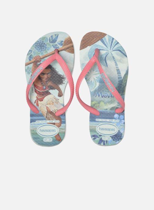 Slippers Havaianas Kids Slim Moana Groen 3/4'