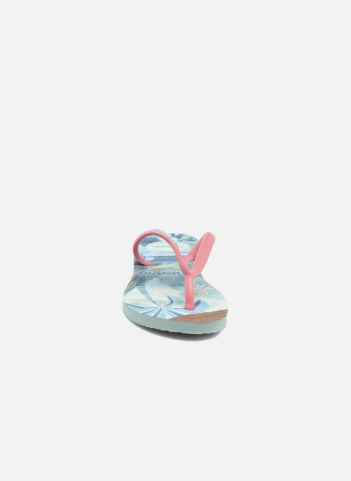 Tongs Havaianas Kids Slim Moana Vert vue portées chaussures