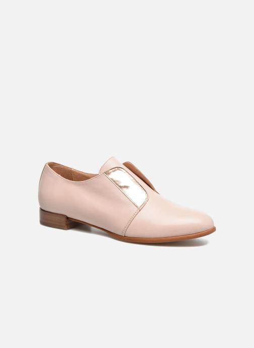 Chaussures à lacets Georgia Rose Tadaa Rose vue détail/paire