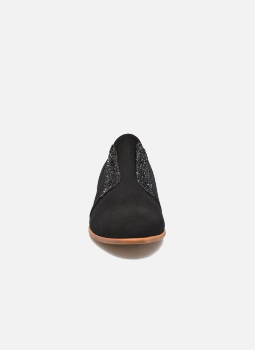 Chaussures à lacets Georgia Rose Tadaa Noir vue portées chaussures