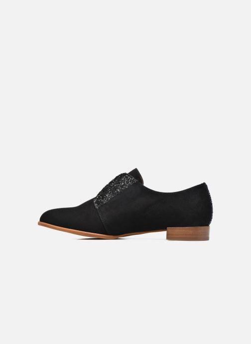 Chaussures à lacets Georgia Rose Tadaa Noir vue face