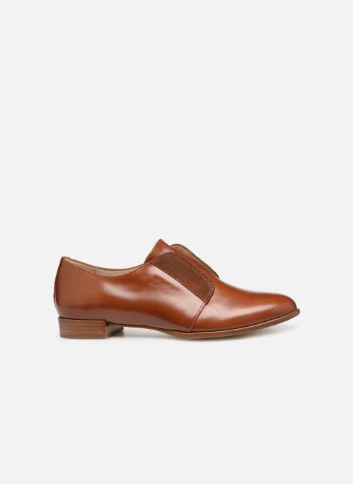Chaussures à lacets Georgia Rose Tadaa Marron vue derrière