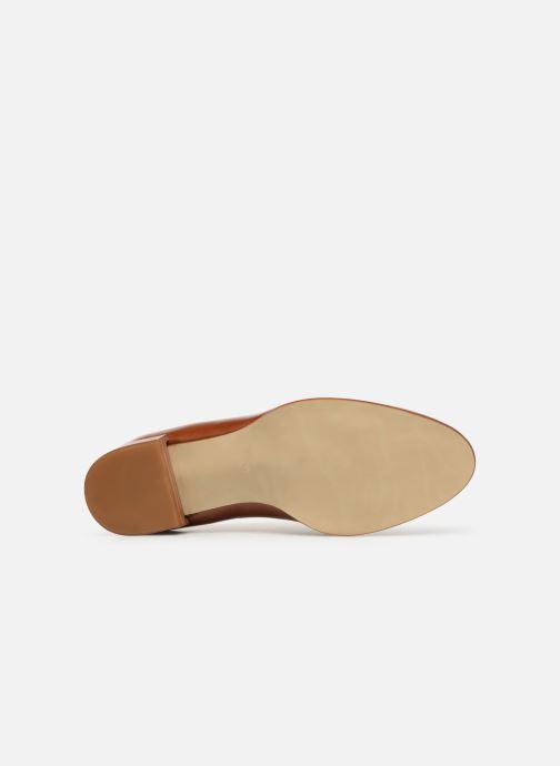 Chaussures à lacets Georgia Rose Tadaa Marron vue haut