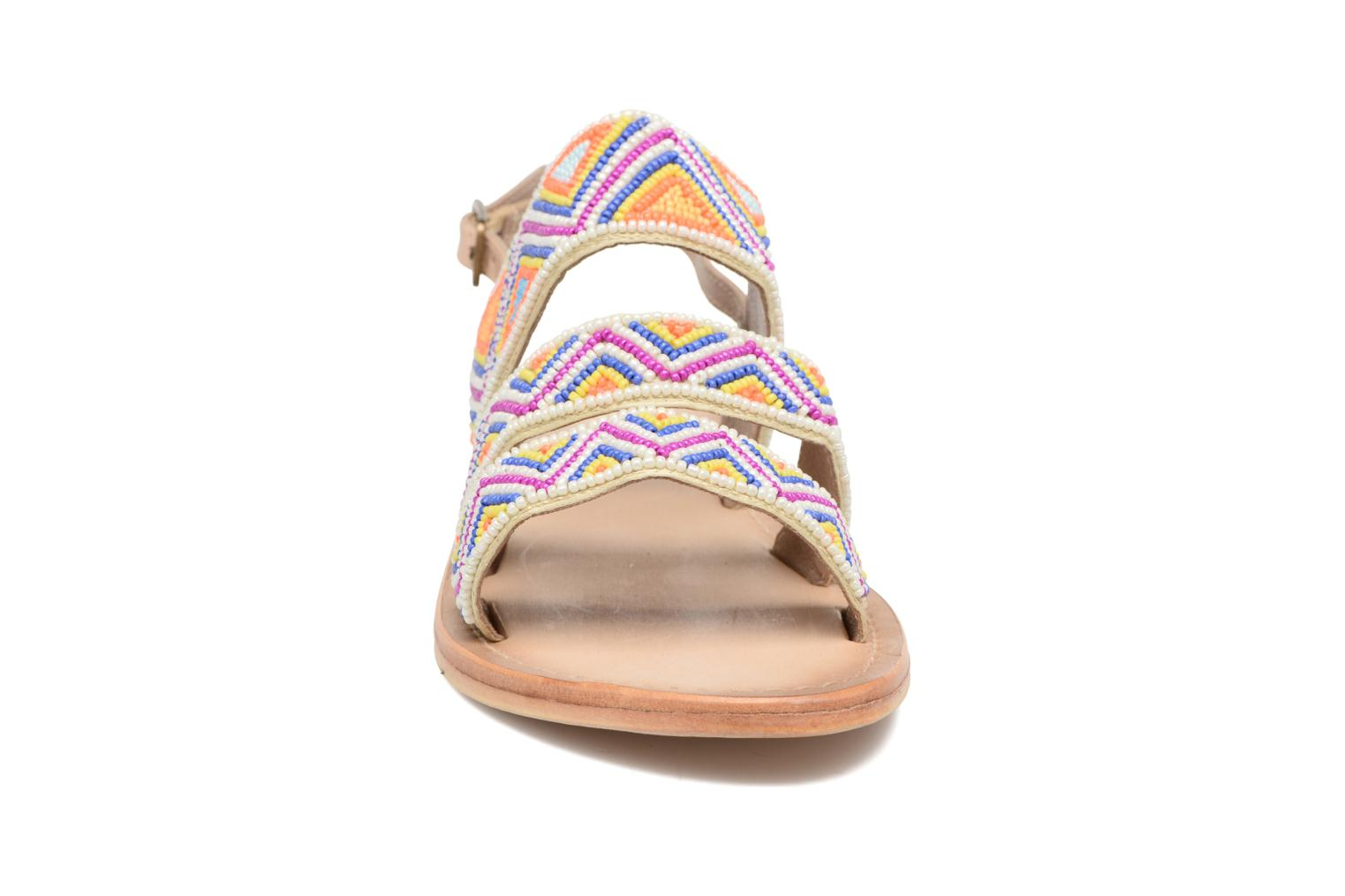 Sandals Les Tropéziennes par M Belarbi Nomade Multicolor model view