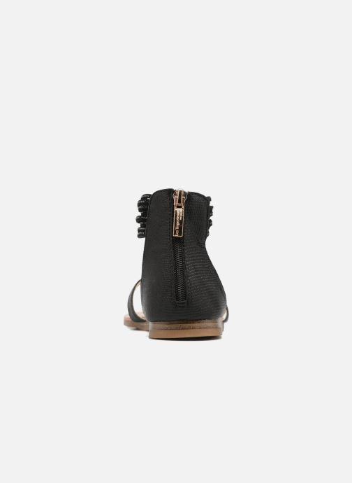 Sandales et nu-pieds Les Tropéziennes par M Belarbi Ginkgo Noir vue droite