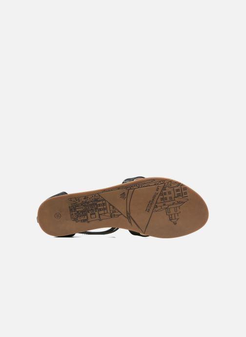 Sandali e scarpe aperte Les Tropéziennes par M Belarbi Ginkgo Nero immagine dall'alto