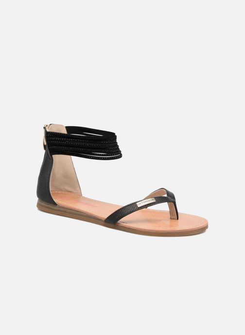 Sandales et nu-pieds Les Tropéziennes par M Belarbi Ginkgo Noir vue détail/paire