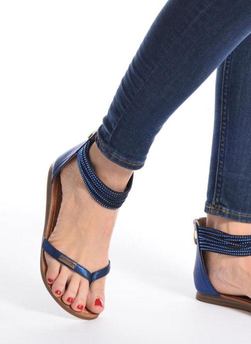Sandales et nu-pieds Les Tropéziennes par M Belarbi Ginkgo Marron vue bas / vue portée sac