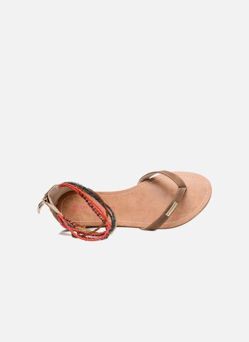 Sandales et nu-pieds Les Tropéziennes par M Belarbi Ginkgo Marron vue gauche