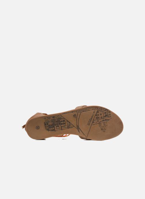 Sandalen Les Tropéziennes par M Belarbi Ginkgo braun ansicht von oben