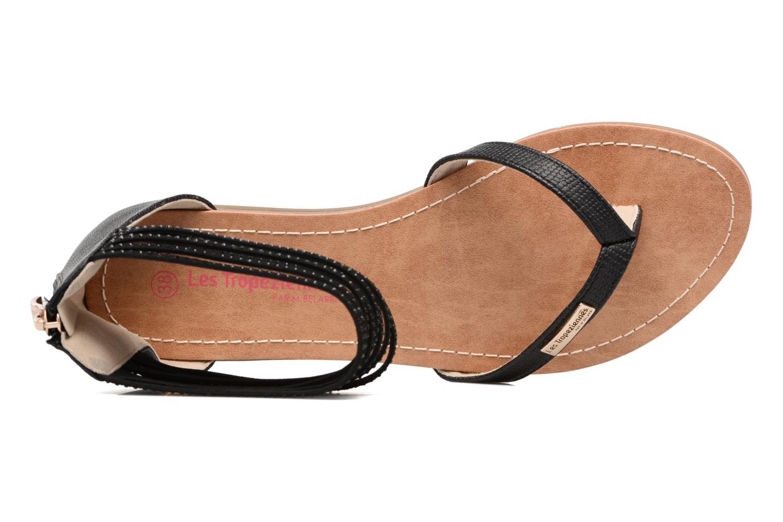 Sandales et nu-pieds Les Tropéziennes par M Belarbi Ginkgo Noir vue gauche