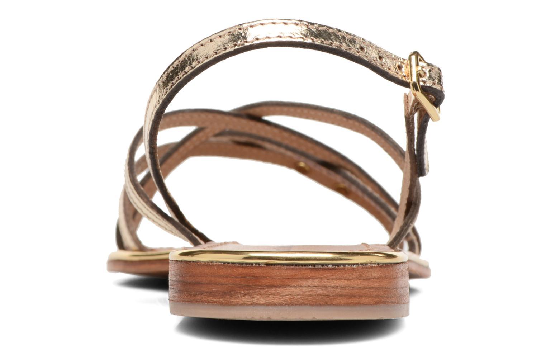 Sandales et nu-pieds Les Tropéziennes par M Belarbi Belle Or et bronze vue droite