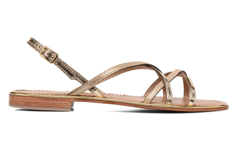 Sandales et nu-pieds Les Tropéziennes par M Belarbi Belle Or et bronze vue derrière