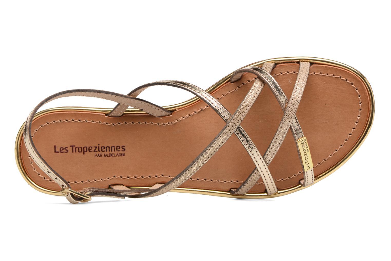 Sandales et nu-pieds Les Tropéziennes par M Belarbi Belle Or et bronze vue gauche