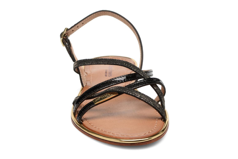 Sandali e scarpe aperte Les Tropéziennes par M Belarbi Belle Nero modello indossato