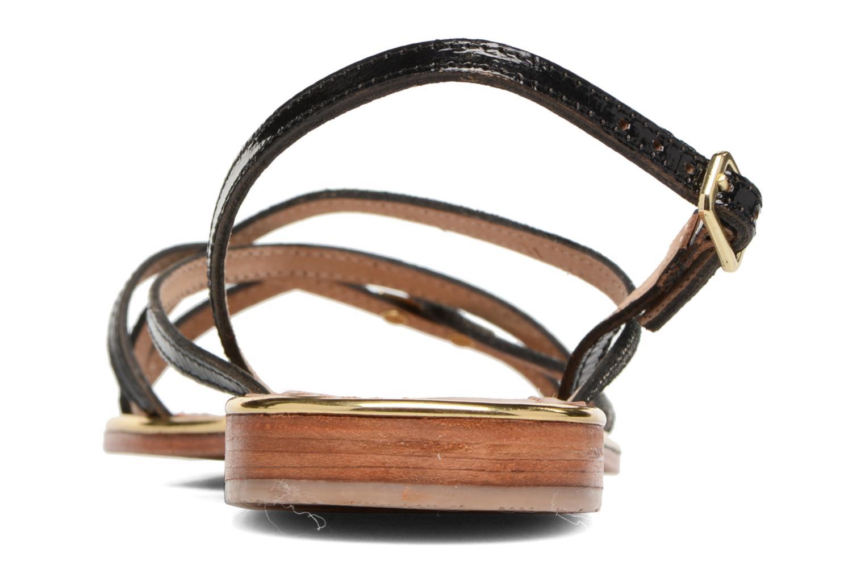 Sandali e scarpe aperte Les Tropéziennes par M Belarbi Belle Nero immagine destra