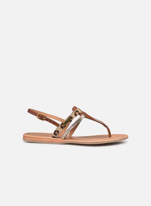 Sandales et nu-pieds Les Tropéziennes par M Belarbi Baraka Marron vue derrière