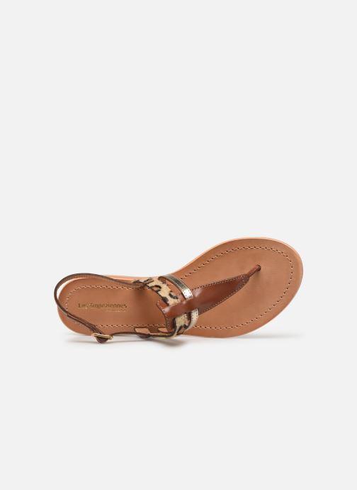 Sandales et nu-pieds Les Tropéziennes par M Belarbi Baraka Marron vue gauche
