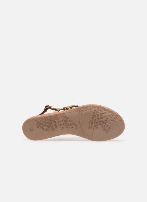 Sandales et nu-pieds Les Tropéziennes par M Belarbi Baraka Marron vue haut