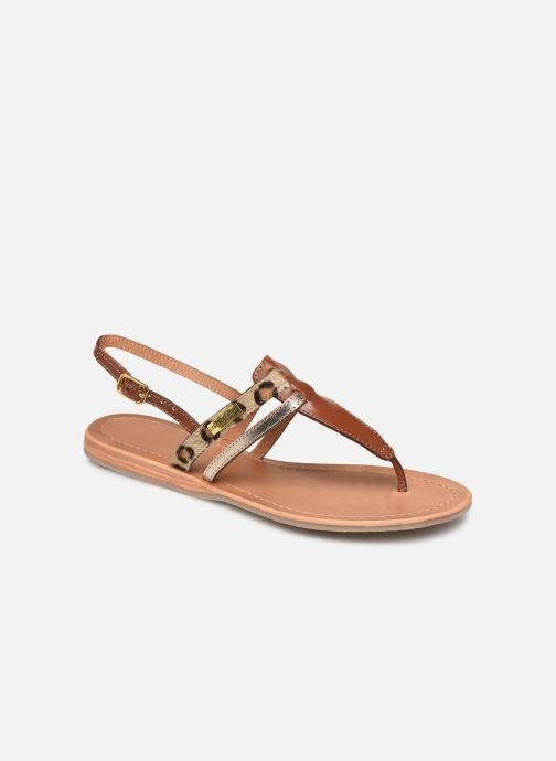 Sandales et nu-pieds Les Tropéziennes par M Belarbi Baraka Marron vue détail/paire