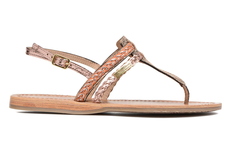 Sandales et nu-pieds Les Tropéziennes par M Belarbi Baraka Or et bronze vue derrière