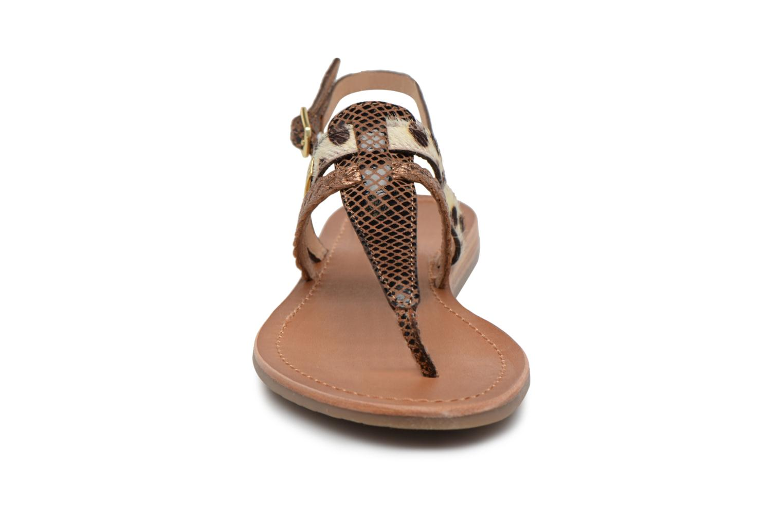 Sandalen Les Tropéziennes par M Belarbi Baraka gold/bronze schuhe getragen