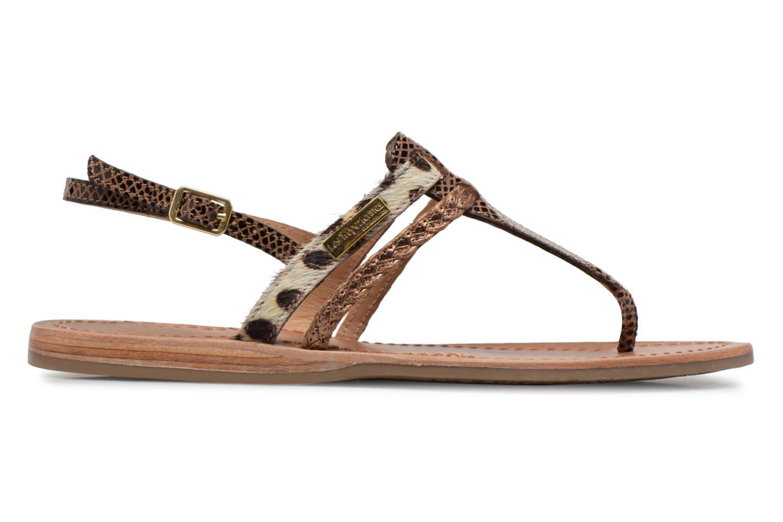 Sandaler Les Tropéziennes par M Belarbi Baraka Guld og bronze se bagfra