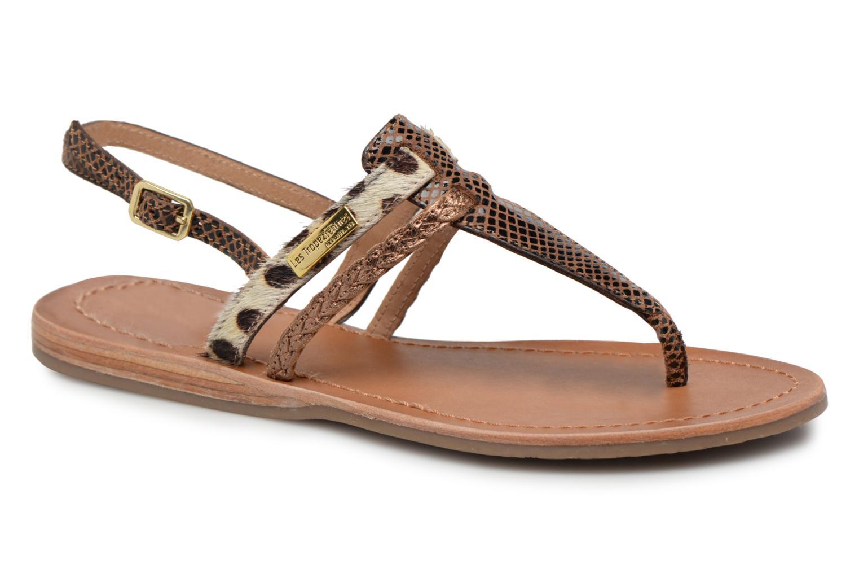 Sandaler Les Tropéziennes par M Belarbi Baraka Guld og bronze detaljeret billede af skoene