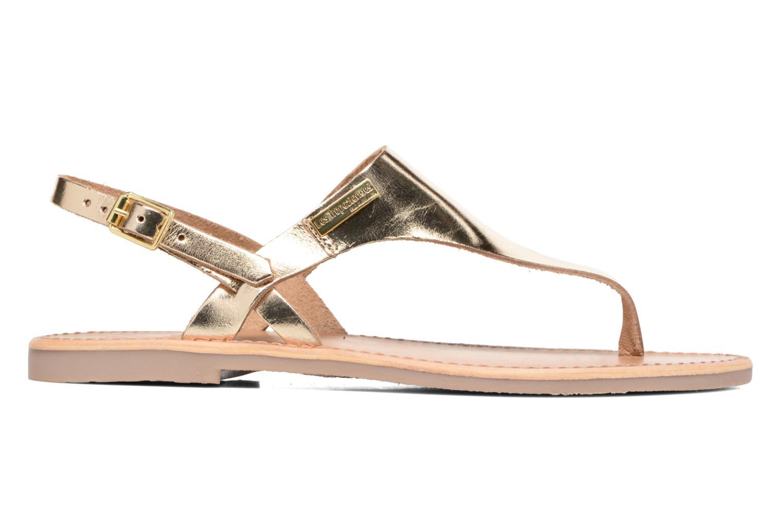 Sandales et nu-pieds Les Tropéziennes par M Belarbi Baccara Or et bronze vue derrière
