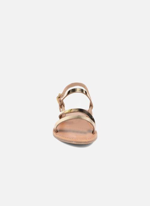 Sandals Les Tropéziennes par M Belarbi Baden Bronze and Gold model view