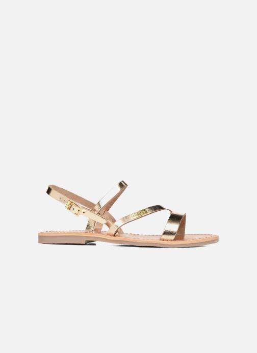 Sandals Les Tropéziennes par M Belarbi Baden Bronze and Gold back view
