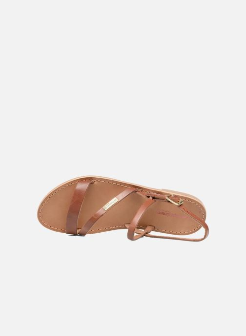 Sandales et nu-pieds Les Tropéziennes par M Belarbi Baden Marron vue gauche