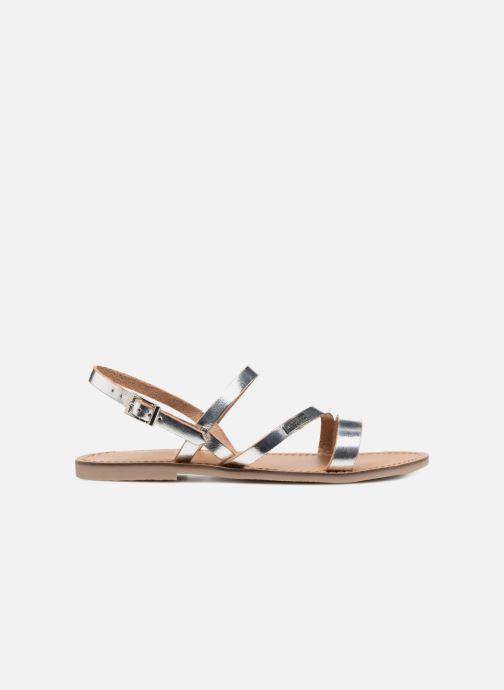 Sandales et nu-pieds Les Tropéziennes par M Belarbi Baden Argent vue derrière