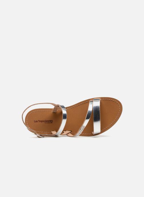 Sandales et nu-pieds Les Tropéziennes par M Belarbi Baden Argent vue gauche