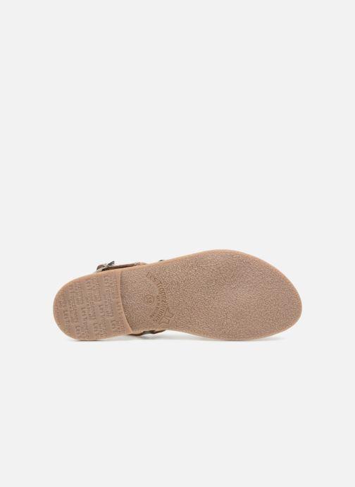 Sandales et nu-pieds Les Tropéziennes par M Belarbi Baden Argent vue haut