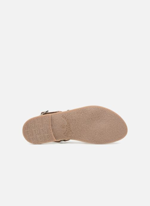Sandali e scarpe aperte Les Tropéziennes par M Belarbi Baden Argento immagine dall'alto