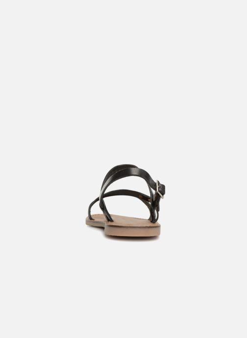 Sandales et nu-pieds Les Tropéziennes par M Belarbi Baden Noir vue droite