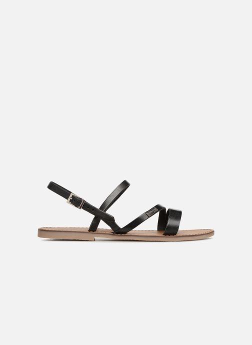 Sandalen Les Tropéziennes par M Belarbi Baden schwarz ansicht von hinten