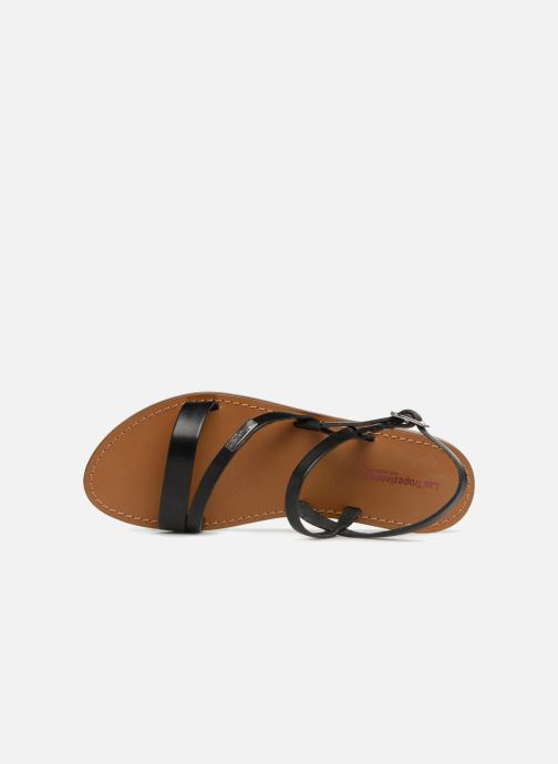 Sandales et nu-pieds Les Tropéziennes par M Belarbi Baden Noir vue gauche
