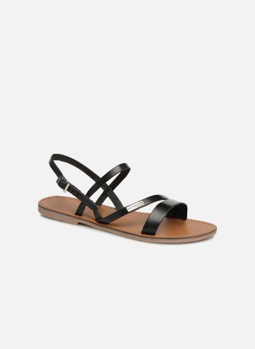 Sandales et nu-pieds Les Tropéziennes par M Belarbi Baden Noir vue détail/paire