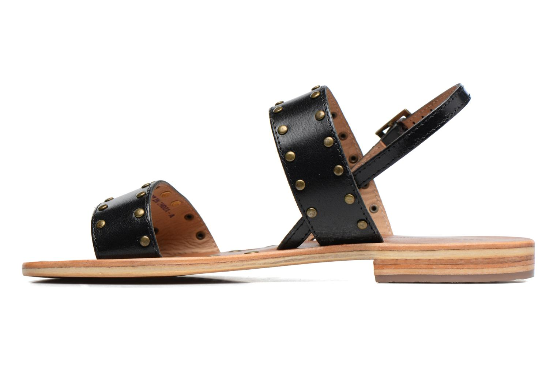 Sandals Les Tropéziennes par M Belarbi Haude Black front view