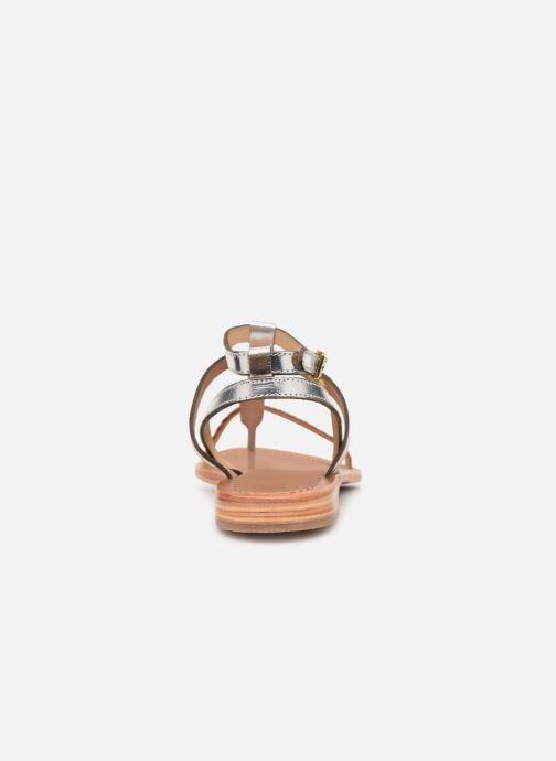 Sandales et nu-pieds Les Tropéziennes par M Belarbi Hilatres Argent vue droite