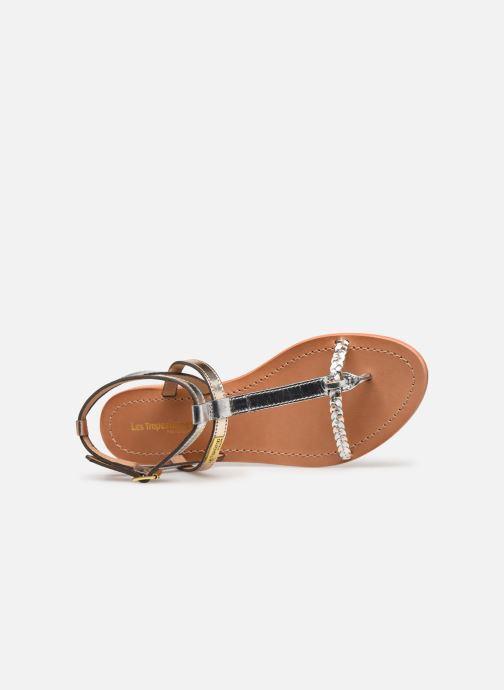 Sandales et nu-pieds Les Tropéziennes par M Belarbi Hilatres Argent vue gauche
