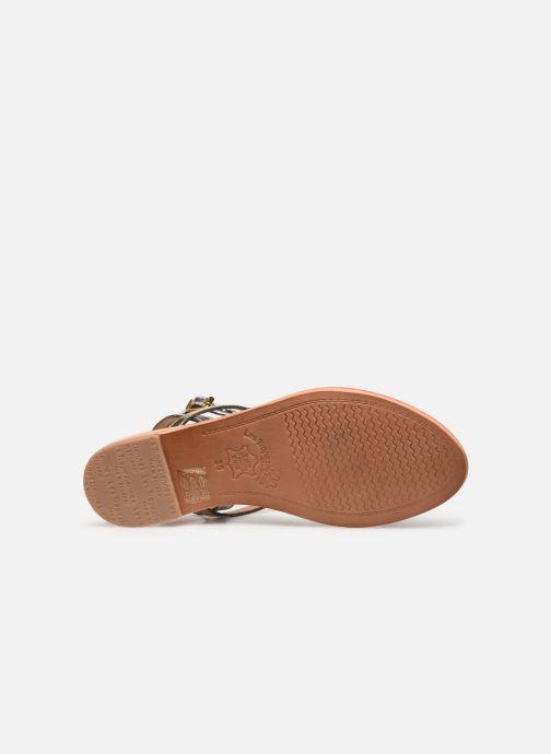 Sandales et nu-pieds Les Tropéziennes par M Belarbi Hilatres Argent vue haut