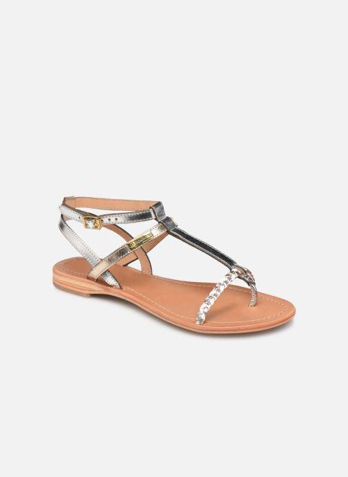 Sandales et nu-pieds Les Tropéziennes par M Belarbi Hilatres Argent vue détail/paire