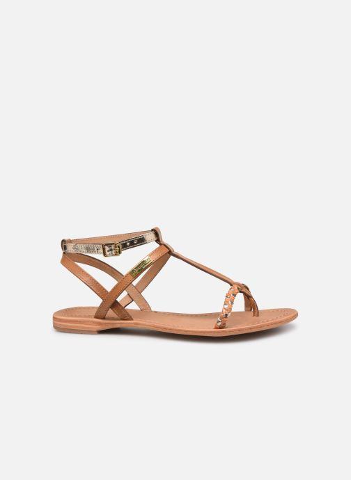 Sandales et nu-pieds Les Tropéziennes par M Belarbi Hilatres Marron vue derrière
