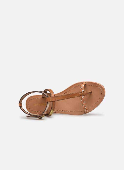 Sandales et nu-pieds Les Tropéziennes par M Belarbi Hilatres Marron vue gauche